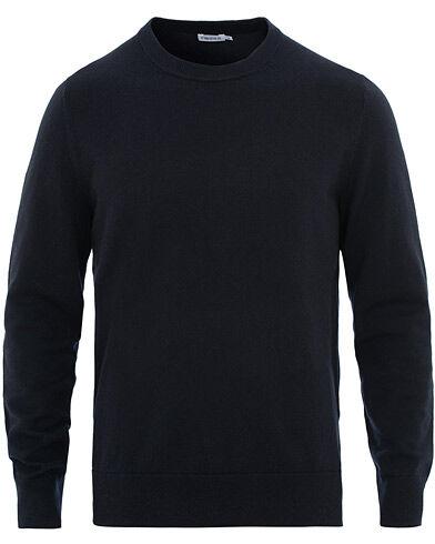 Filippa K Cotton Merino Basic Sweater Navy