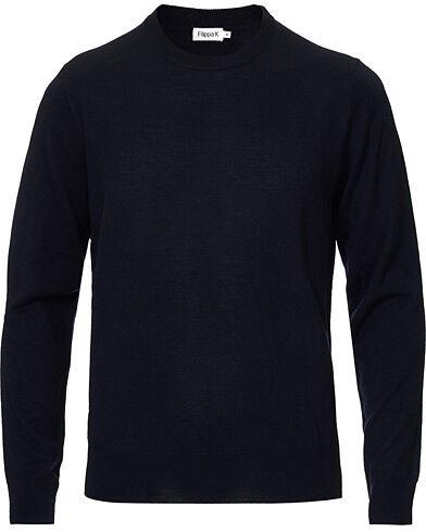 Filippa K Merino Round Neck Sweater Navy