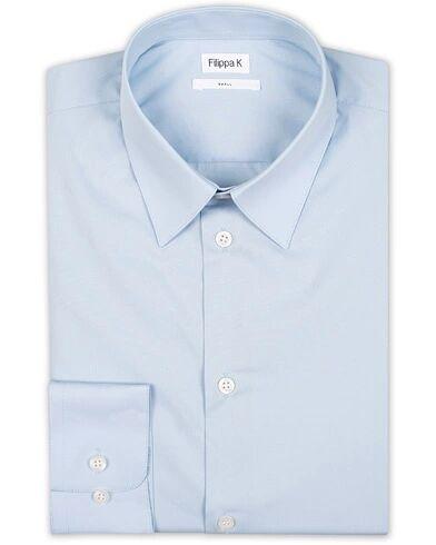 Filippa K James Stretch Shirt Light Blue