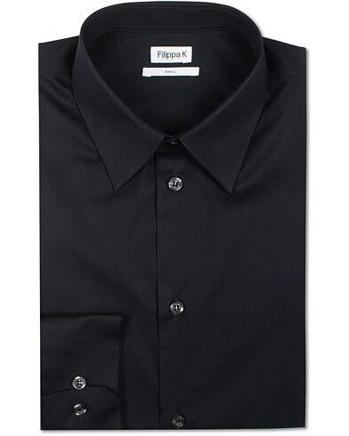 Filippa K James Stretch Shirt Dark Navy