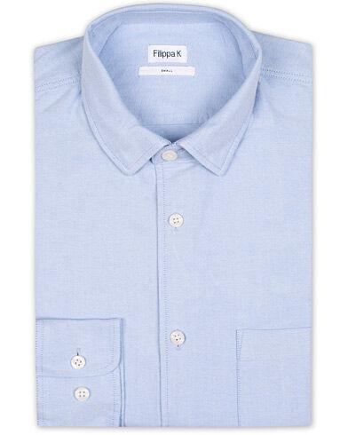 Filippa K Tim Oxford Shirt Light Blue