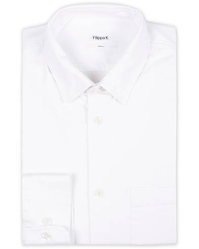 Filippa K Tim Oxford Shirt White