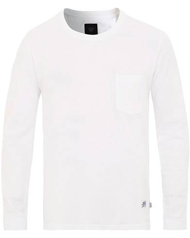 Tiger of Sweden Jeans Salk Long Sleeve Tee White