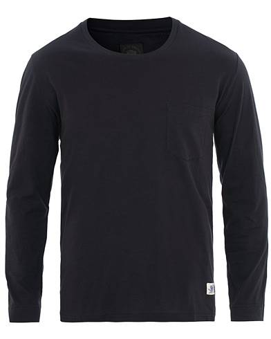 Tiger of Sweden Jeans Salk Long Sleeve Tee Navy