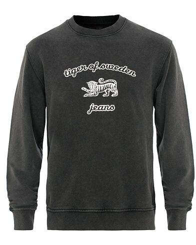 Tiger of Sweden Jeans Tana Crew Neck Sweatshirt Black