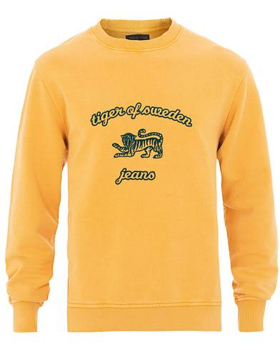 Tiger of Sweden Jeans Tana Crew Neck Sweatshirt Yellow