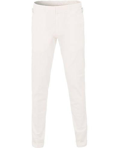 Tiger of Sweden Tretton Adjusters Cotton Trousers Off white