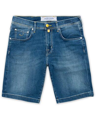 Jacob Cohën 6636 Jeans Shorts Light Blue