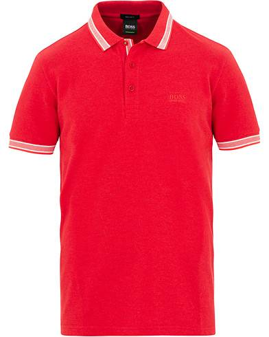 BOSS Athleisure Paddy Polo Red