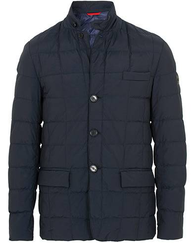 Fay New Down Jacket Navy