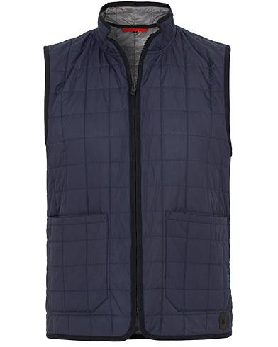 Fay Suffolk Down Vest Navy