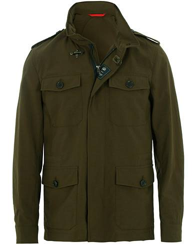 Fay New Chelsea Fieldjacket Military Green