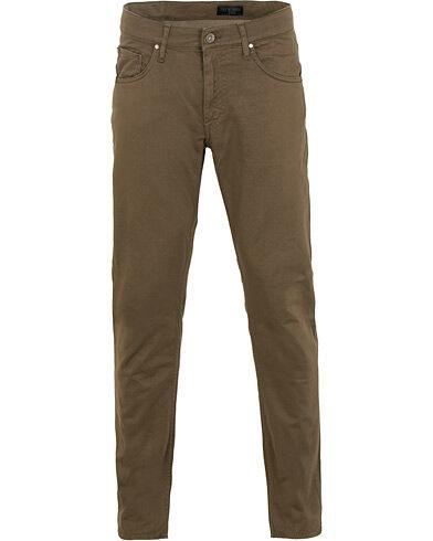 Tiger of Sweden Jeans Iggy 5-Pocket Trousers Dark Khaki