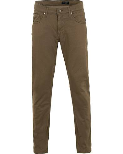 Tiger of Sweden Jeans Iggy 5-Pocket Trousers Dark Khaki