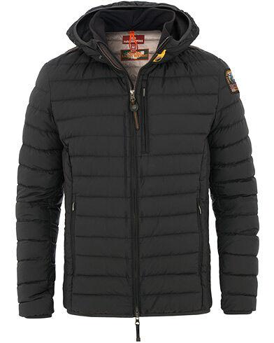 Parajumpers Last Minute Super Lightweight Hooded Jacket Black