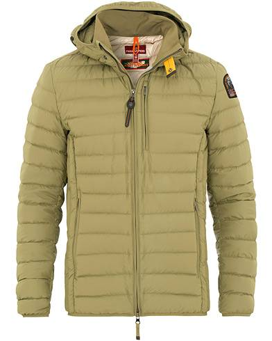 Parajumpers Last Minute Super Lightweight Hooded Jacket Capers Green