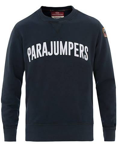Parajumpers Caleb Crew Neck Sweatshirt Navy