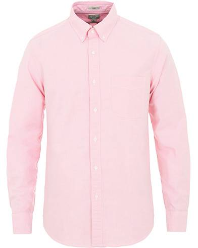 J.Crew Slim Fit Stretch Oxford Shirt Light Hibiscus