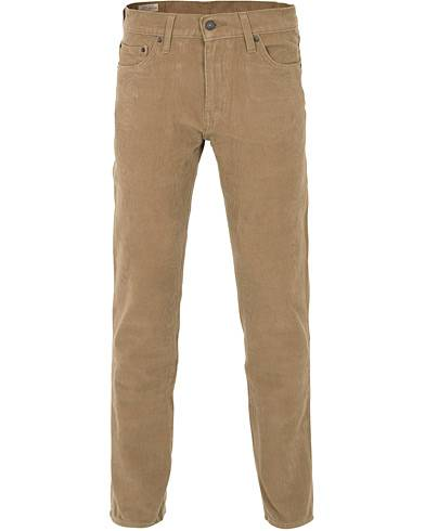 Levis 511 Slim Fit Stretch Corduroy Trousers Lead Grey
