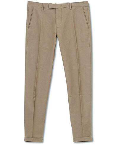 NN07 Scott Regular Fit Stretch Trousers Khaki