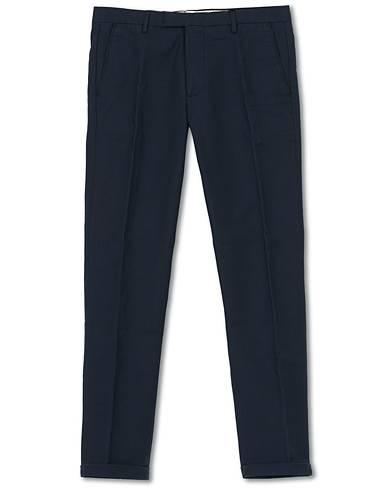 NN07 Scott Regular Fit Stretch Trousers Navy Blue