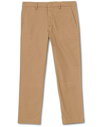 NN07 Theo Regular Fit Stretch Chinos Green Stone