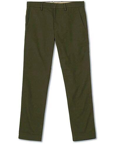 NN07 Theo Regular Fit Stretch Chinos Army Green