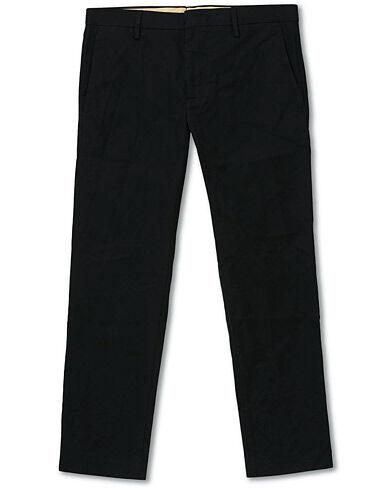 NN07 Theo Regular Fit Stretch Chinos Black