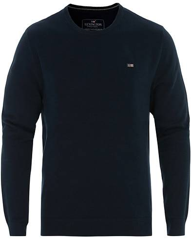 Lexington Bradley Crew Neck Sweater Dark Blue