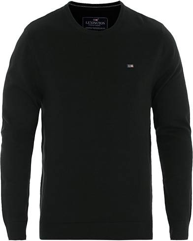 Lexington Bradley Crew Neck Sweater Black