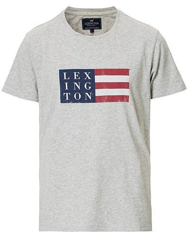 Lexington Simon Tee Grey Melange