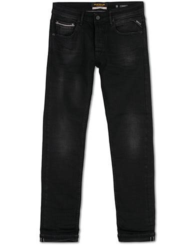 Replay Groover Stretch Selvedge Jeans Black