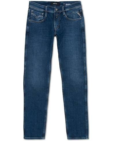Replay Anbass Stretch Jeans Blue
