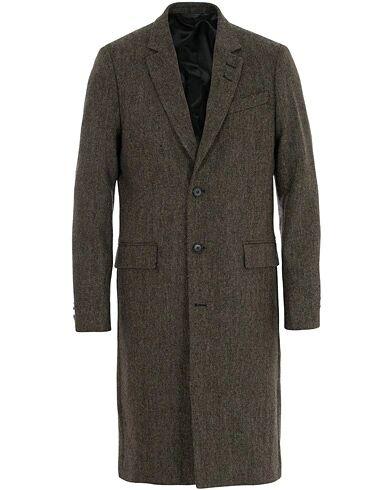 Tiger of Sweden Coltmar Structured Wool Coat Brown