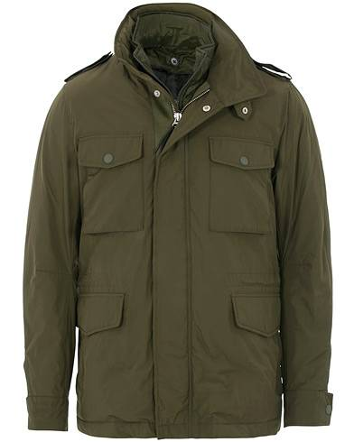 Tiger of Sweden Ossien Padded Field Jacket Military Green