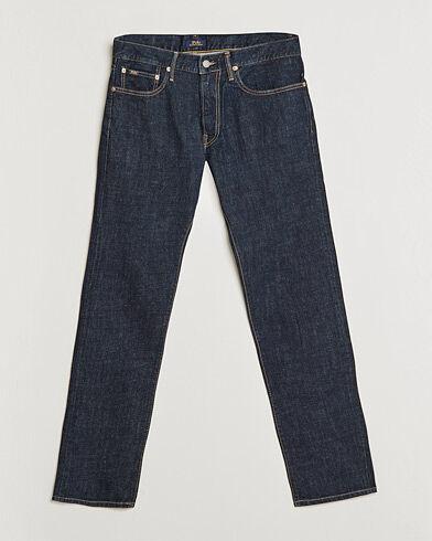 Image of Ralph Lauren Sullivan Slim Fit Rins Stretch Jeans Dark Blue