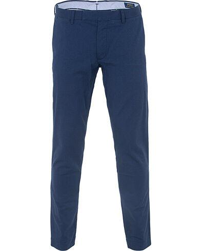 Image of Ralph Lauren Tailored Slim Fit Hudson Chino Dark Cobalt