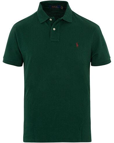 Image of Ralph Lauren Custom Slim Fit Polo Green