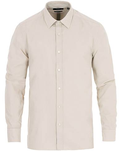 BOSS Franklin Corduroy Shirt Beige