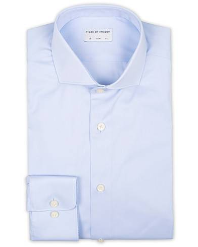 Tiger of Sweden Farell 5 Stretch Shirt Light Blue