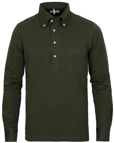Berg&Berg Conrad Button Down Poloshirt Olive