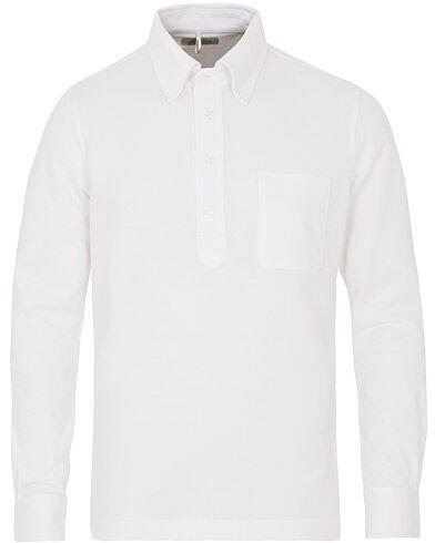 Berg&Berg Conrad Button Down Poloshirt White
