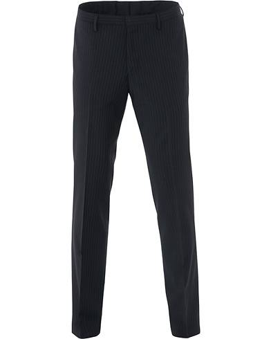Tiger of Sweden Todd Wool Pinstripe Suit Trousers Navy