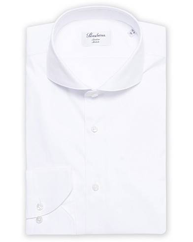 Stenströms Slimline Full Stretch Fullspread Shirt White