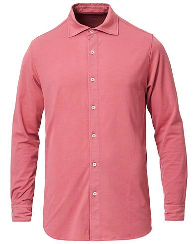 Altea Cotton Stretch Jersey Shirt Rouge