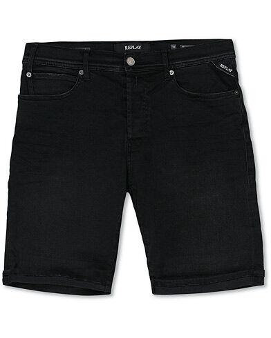Replay RBJ901 Hyperflex Jeans Shorts Black