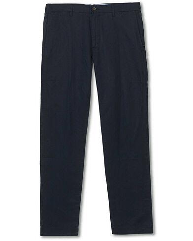Ralph Lauren Newport Linen Trousers Aviator Navy