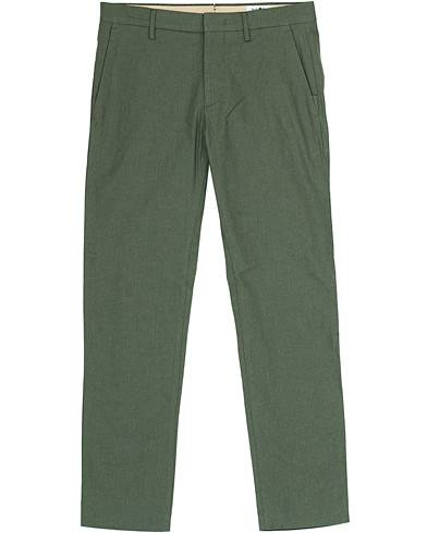 NN07 Theo Regular Fit Stretch Structure Chinos Thyme