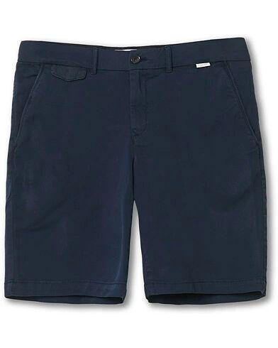 Image of Calvin Klein Slim Fit Garment Dyed Shorts Navy
