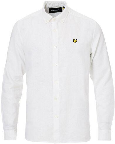 Lyle & Scott Linen/Cotton Shirt White